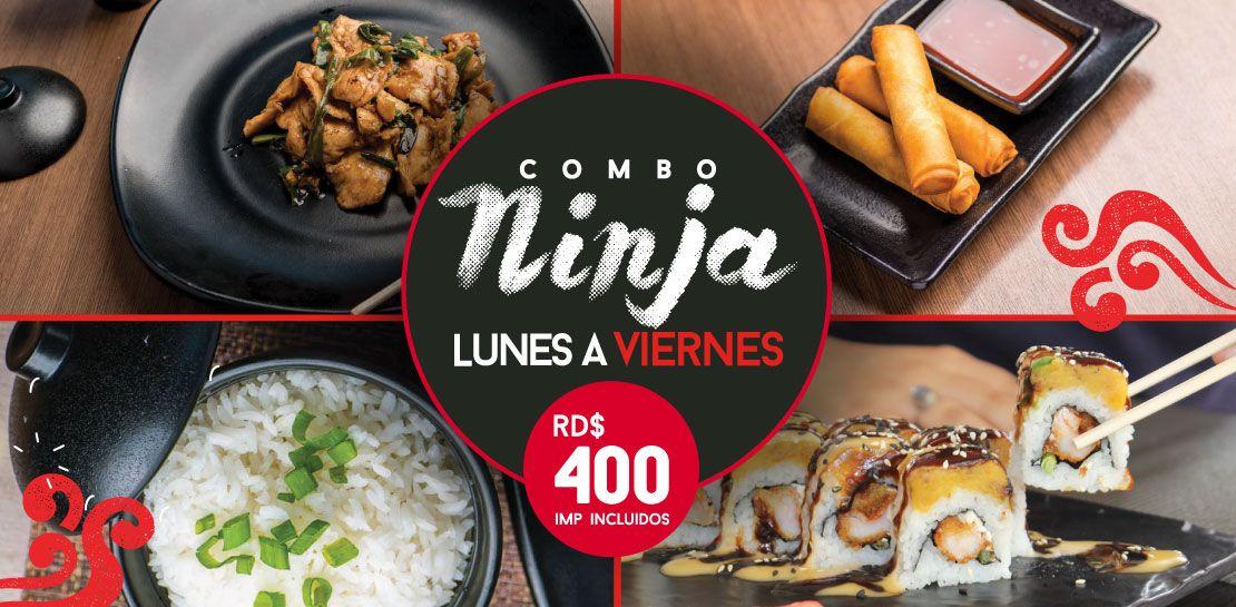 Combo Ninja  -  Restaurantes YAO Asian Cuisine